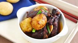 Sườn om khoai tây - ấm áp ngày mưa lạnh