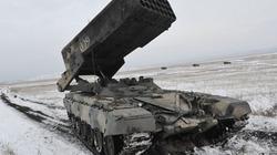 Nga thử nghiệm siêu đạn cho pháo phản lực TOS-1 Buratino