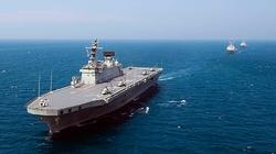 Tàu chiến lớn nhất của Hải quân Hàn Quốc bị cháy