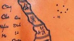2 ngày chịu đau để xăm bản đồ với Trường Sa, Hoàng Sa trên lưng