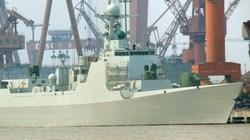 Trung Quốc thử nghiệm siêu tàu khu trục type 052D trên biển