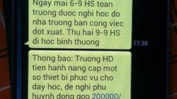 Thủ phạm khiến 200 học sinh nghỉ học vì một tin nhắn là ai?