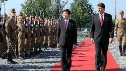 Chủ tịch nước Trương Tấn Sang thăm Hungary: Hợp tác về năng lượng nguyên tử vì hòa bình