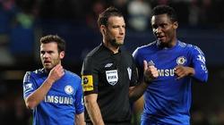 Sao Chelsea dọa đánh gãy giò trọng tài Clattenburg