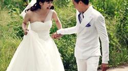 Minh Hằng làm cô dâu, hạnh phúc bên Lương Mạnh Hải