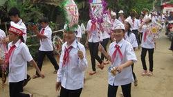 Rộn ràng Trung thu truyền thống nơi làng bản