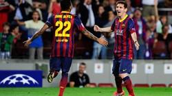 Barcelona-Ajax (4-0): Màn trình diễn của Siêu Messi