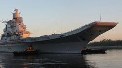 Lộ thời điểm Ấn Độ nhận tàu sân bay Vikramaditya