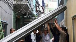 Sập nhà ở TP.HCM: Do bể cống thoát nước ngầm
