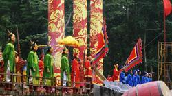 Lễ hội Lam Kinh: Tái hiện khởi nghĩa 10 năm chống quân Minh