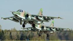 Cường kích Su-25 của Nga rơi tan xác, phi công tử nạn