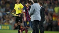 Messi hục hặc với HLV Tata Martino