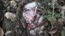 Khu vườn kinh dị ngập tượng máu me và xác ướp ở Tây Ninh