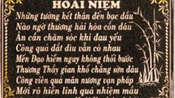 An bình một nghĩa địa… toàn thơ
