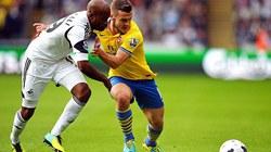 "Swansea – Arsenal (1-2): ""Người hùng"" Aaron Ramsey"