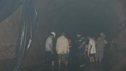 Huy động người nhái tìm 3 nạn nhân bị lũ cuốn trong hầm thủy điện