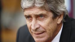 Pellegrini bị sốc với thất bại của Man City