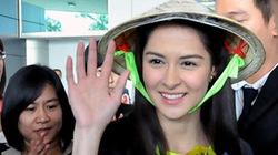 """Mỹ nhân đẹp nhất Philippines đội nón lá và gửi lời nhắn: """"Tôi nhớ Việt Nam"""""""