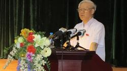 """Tổng Bí thư Nguyễn Phú Trọng: """"Chỉ cần sai một ly là đi một dặm"""""""