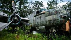 """""""Nghĩa địa máy bay"""" Mỹ của người đàn ông lập dị"""
