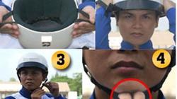 CẦN BIẾT: Sử dụng mũ bảo hiểm thế nào để không bị phạt?