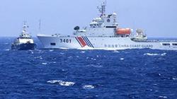 Hoàng Sa, 4.7: Tàu Trung Quốc hung hăng, Kiểm ngư Việt Nam kiên trì bám trụ