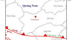 Bắc Trà My: 2 trận động đất cách nhau 1 phút kèm tiếng nổ lớn