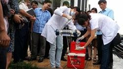 Trạm cấp nước Mỹ Đình II (Hà Nội):  100% mẫu nước có thạch tín vượt ngưỡng