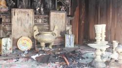Nghệ An: Cháy lớn thiêu đốt di tích lịch sử quốc gia từ thời Nhà Lý