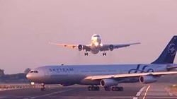 Máy bay Boeing suýt va nhau với Airbus trên đường băng