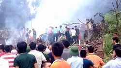 Vụ trực thăng rơi ở Hòa Lạc: 5 người được chuyển khẩn cấp xuống Viện Bỏng Quốc gia