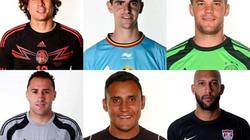 """""""Điểm danh"""" 10 người gác đền xuất sắc nhất World Cup 2014"""