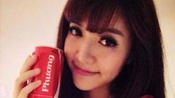 """Ảnh """"tự sướng"""" với lon Coca ghi tên mình của sao Việt nào đẹp nhất?"""