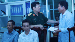 Bộ Quốc phòng hỗ trợ các chiến sĩ trong vụ trực thăng rơi