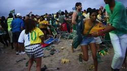 Chùm ảnh: Dân Brazil nổi loạn sau thảm bại trước người Đức