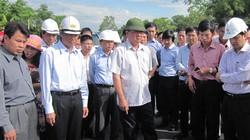 """Bộ trưởng Thăng yêu cầu """"bóc lên làm lại"""" tại QL1A ở Thừa Thiên-Huế"""
