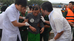 Vụ chìm tàu trên đường từ Trường Sa về: Tìm thấy 1 thi thể, còn 5 người mất tích