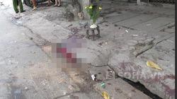 Hà Nội: Người đàn ông chết gục trên vũng máu với nhiều vết chém