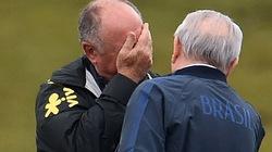 HLV Scolari khóc nức nở khi gặp Chủ tịch CBF