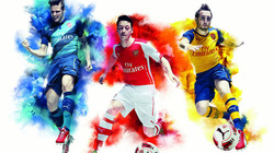 Chùm ảnh Arsenal ra mắt mẫu áo đấu mới