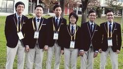 Nam sinh lập lại thành tích của GS Ngô Bảo Châu tại kỳ thi Olympic Toán