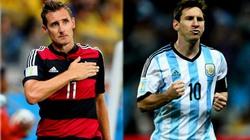 """90% dân cá cược """"đặt cửa"""" ĐT Đức sẽ thắng Argentina"""