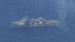 Tận mắt cảnh bắn chìm chiến hạm từng tham chiến tại Việt Nam
