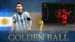 Messi đoạt danh hiệu Quả bóng Vàng World Cup 2014