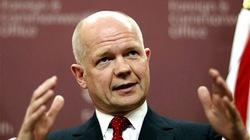 Ngoại trưởng Anh William Hague bất ngờ từ chức để lãnh đạo Hạ viện