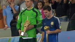 Chủ tịch FIFA ngạc nhiên khi Messi đoạt Quả bóng Vàng World Cup