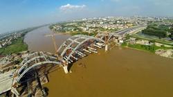 Chùm ảnh: Cầu vòm ống thép nghìn tỷ đầu tiên tại Việt Nam