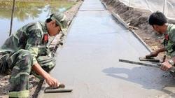 Quân, dân cùng làm nông thôn mới
