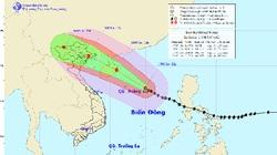 Quần đảo Hoàng Sa hứng gió bão giật cấp 15-16
