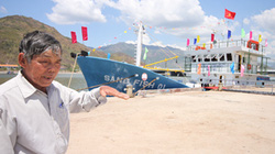 Hỗ trợ ngư dân đóng tàu vỏ sắt: Sẽ hướng dẫn  thực hiện trước  25.8